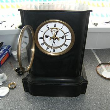 french clock. - Clocks
