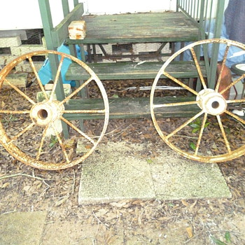 Steel wagon wheels - Tools and Hardware