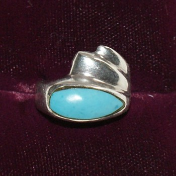 Mexican Silver Ring - Fine Jewelry