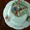 Oriental Germany set of porcelain plates for a child 1950