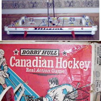 1961 Munro Table Hockey game - Games