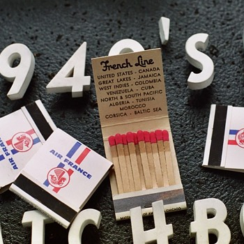 Last of the 40's 50's Matchbooks on display!! - Tobacciana