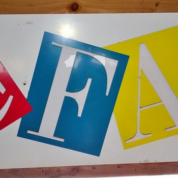 F.A.O. Schwarz sign from Seattle Store - Signs
