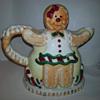 Vintage Gingerbread People Teapot
