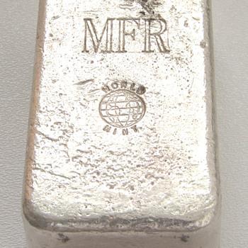 MFR WORLD MINT .999 SILVER BAR  50+ OZ.  - Gold