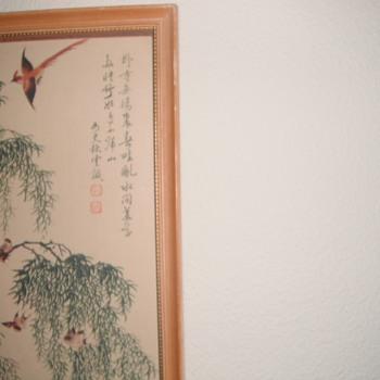 Asian scrolls - Asian