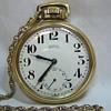 Buren Grand Prix pocket watch with chain