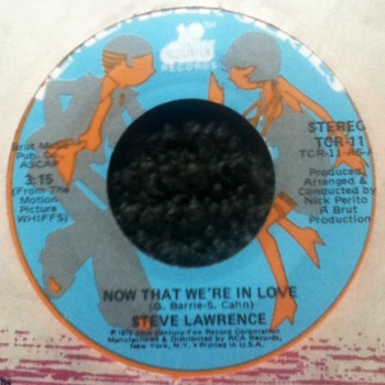 Steve Lawrence 45 Record