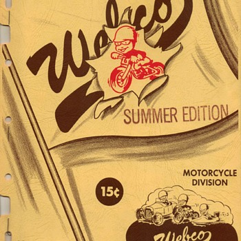 1955 - Webco Motorcycle Parts Catalog - Paper
