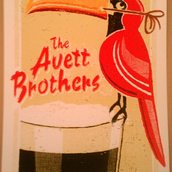 Avett Brothers poster, Dublin, 2013 - Posters and Prints