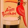 Avett Brothers poster, Dublin, 2013
