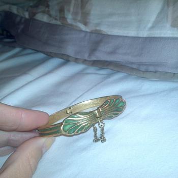 bronze kalevala koru bracelet - Fine Jewelry