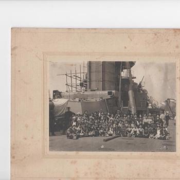 Japanese Battleship  - Photographs