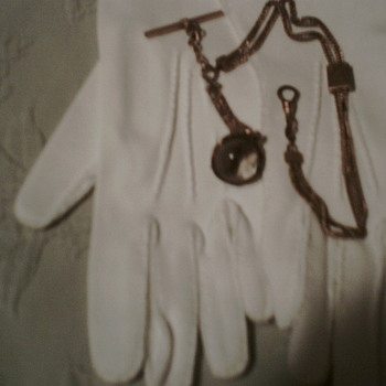 mid 1800's Germany Pocket Watch Pocket Watch fob and chain