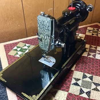 "British ""Century of Sewing Service 1851-1951"" Featherweight 221K4 - Sewing"