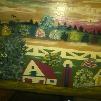 folk art painting