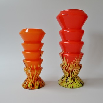Still other examples of the production of the Ernst Steinwald glassworks  - Art Glass