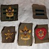 Saturday Evening Scout Post Still More Vintage Rank and Position Patches 1946-1960s