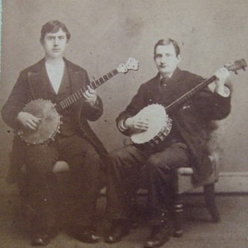 NYC Banjo Players - Photographs