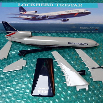 British Airways L-1011 Landor branding (1:250 scale) - Toys