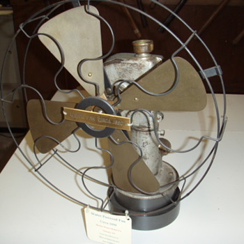 water powered fan - Tools and Hardware