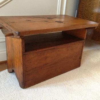 Child's desk-chair perhaps?    - Furniture