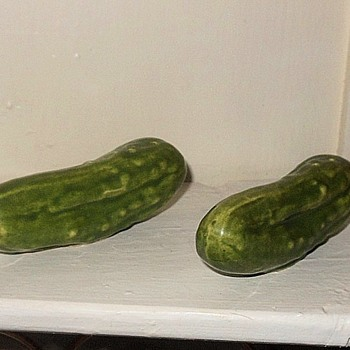 Sweet Pickle Salt and Pepper Shakers - Kitchen