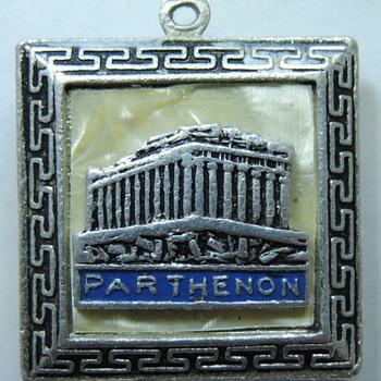 Parthenon Silver Pendent - Fine Jewelry