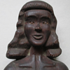 Bust of a Nude Woman Folk Art Sculpture