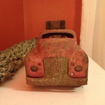 rusty old car - Model Cars