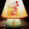 1930's Mickey Mouse Tin Lamp w/ Handpainted Shade