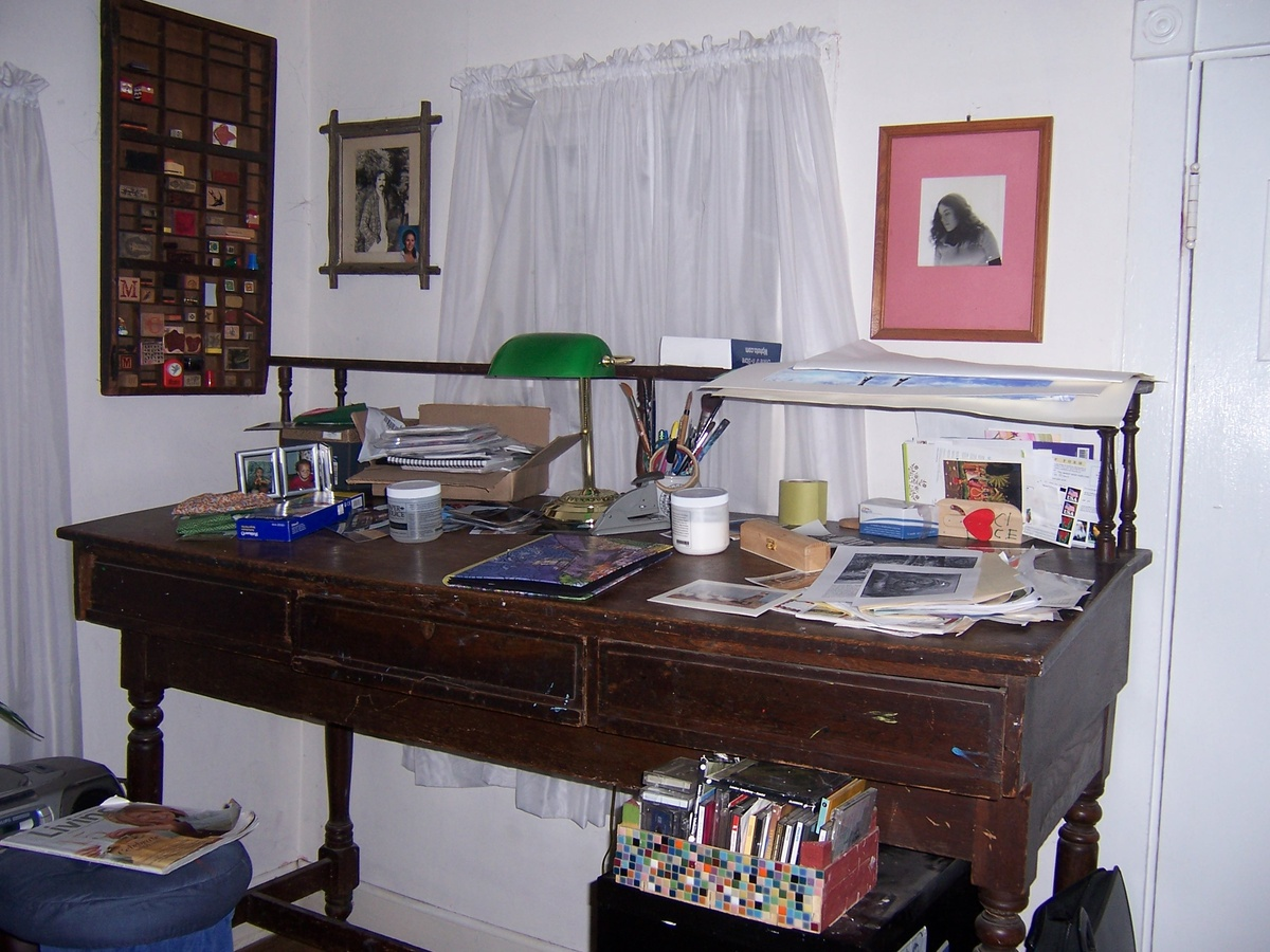 Early Printer S Desk Collectors Weekly