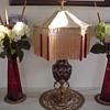Daum Cameo Glass Lamp