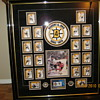 Collage of pictures of Bobby Orr and team mates