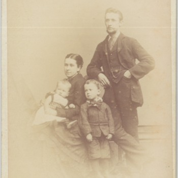 Family CDV from Cardiff, Wales, United Kingdom - Photographs