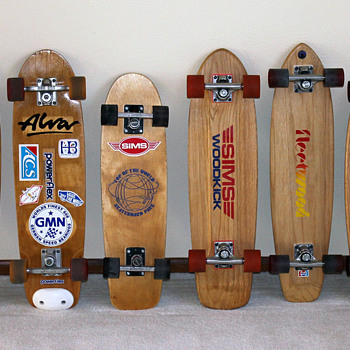 1970's Skateboard Collection