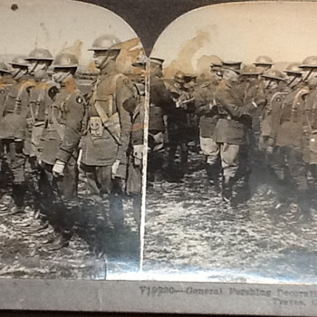General Pershing Decorating Officers - Photographs