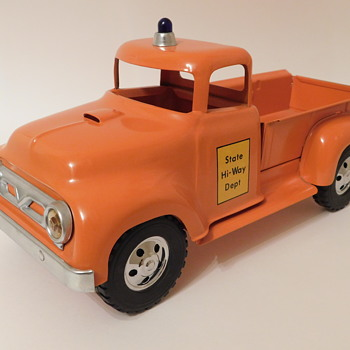 1957 Tonka State Highway Department Pick-Up...Restored - Model Cars