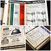 1939 David Lionel Press Salesman Sample Order Book