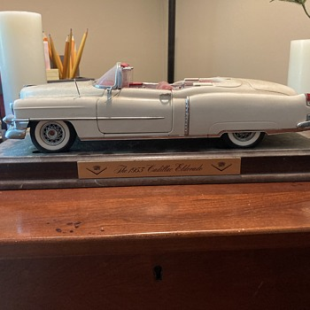 Danbury Mint 1953 Cadillac Eldorado  - Model Cars
