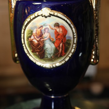 Tall Fancy Vase - Sevres-style? - Pottery