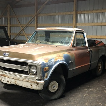 1970 Chev C10 Pickup Project Truck - Classic Cars