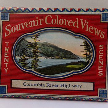 1920s Souvenir Views of Columbia River Highway - Postcards
