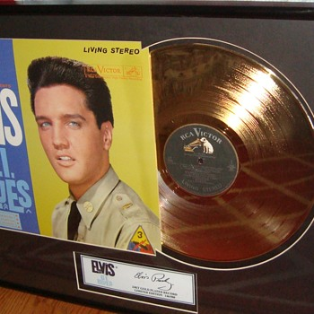 Old Elvis Presley Album - Records