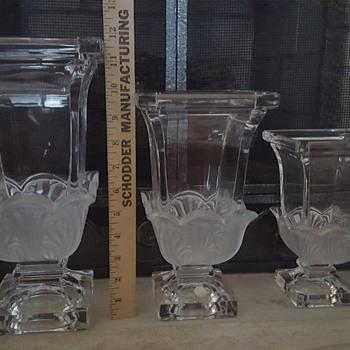 Beautiful vase set of 3