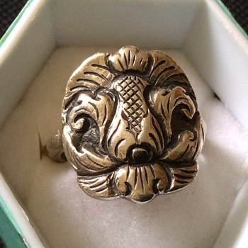 Very old silver ring