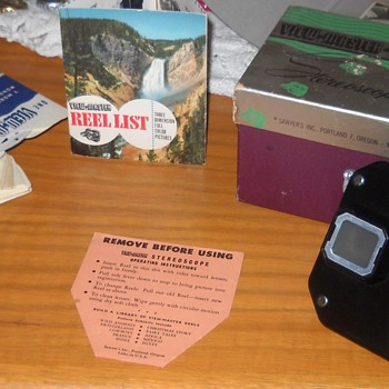 Sawyers Stereoscope Viewmaster - Photographs