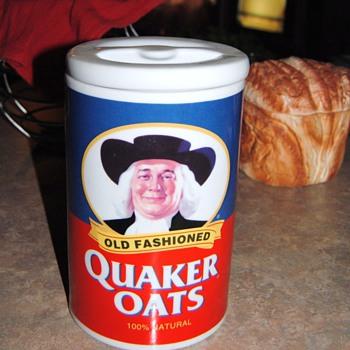"""I LOVE OATMEAL...QUAKER OATS OATMEAL"" - Kitchen"