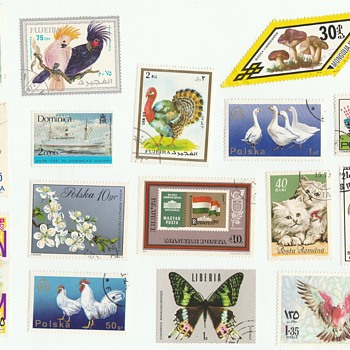 Foreign Postage Stamps - Stamps