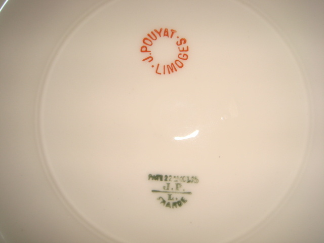 J  Pouyat Limoges China - Pattern? Date? | Collectors Weekly